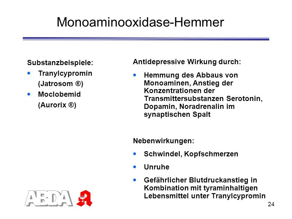 Monoaminooxidase-Hemmer