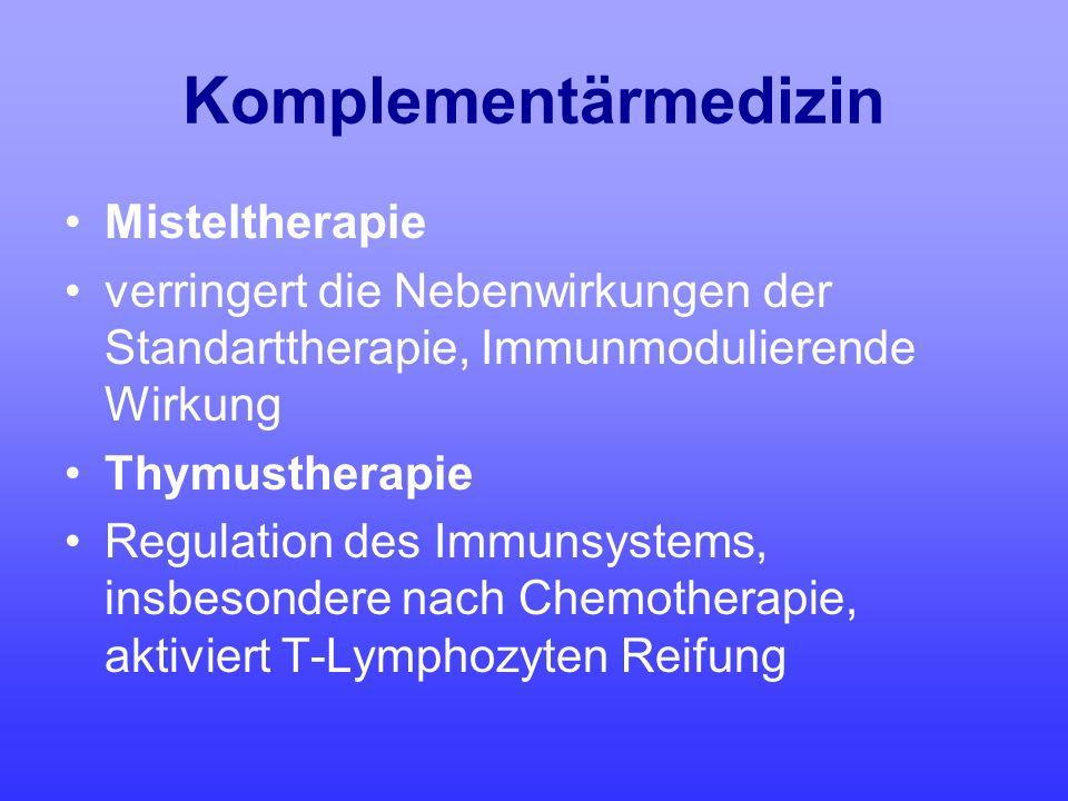 Komplementärmedizin Misteltherapie