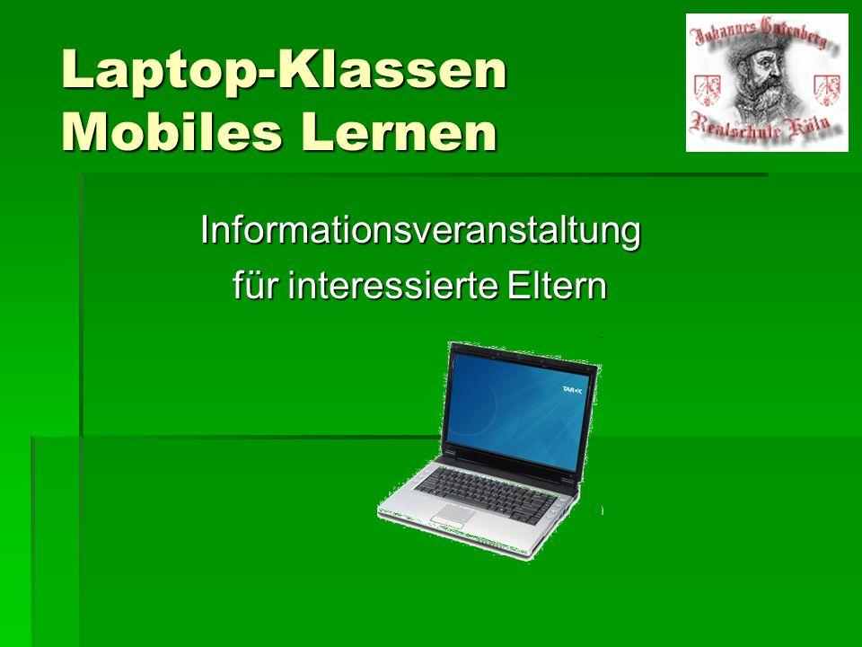 Laptop-Klassen Mobiles Lernen