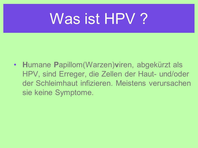 Was ist HPV