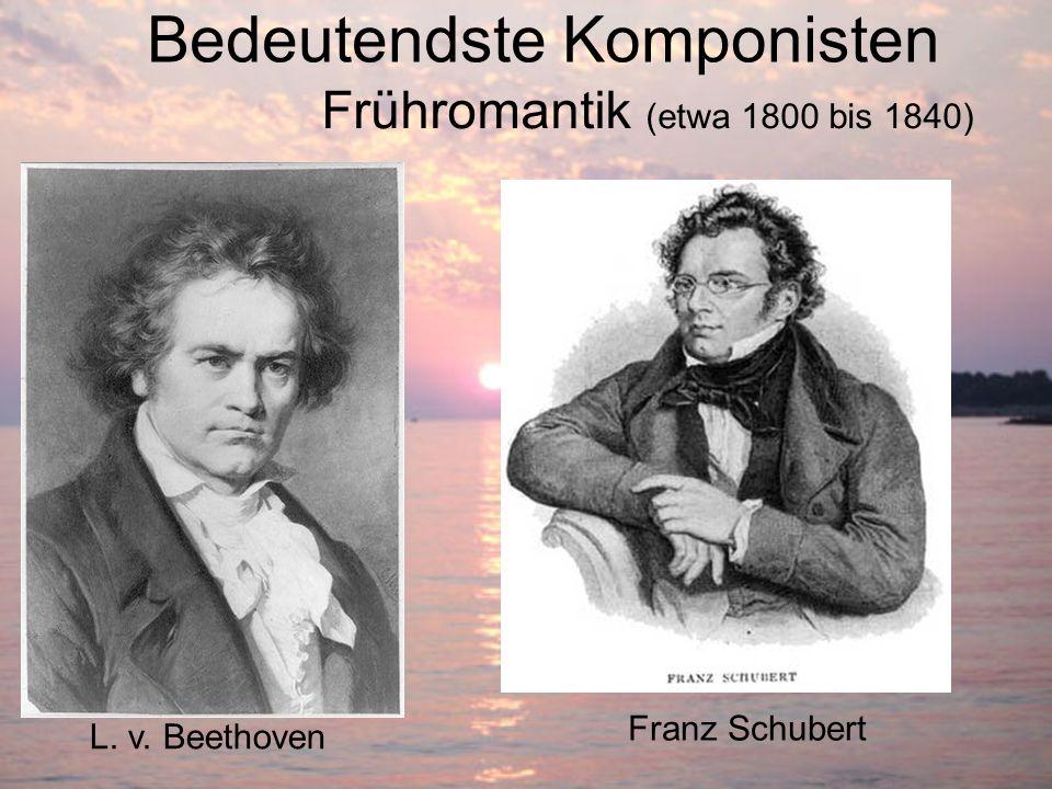 Bedeutendste Komponisten