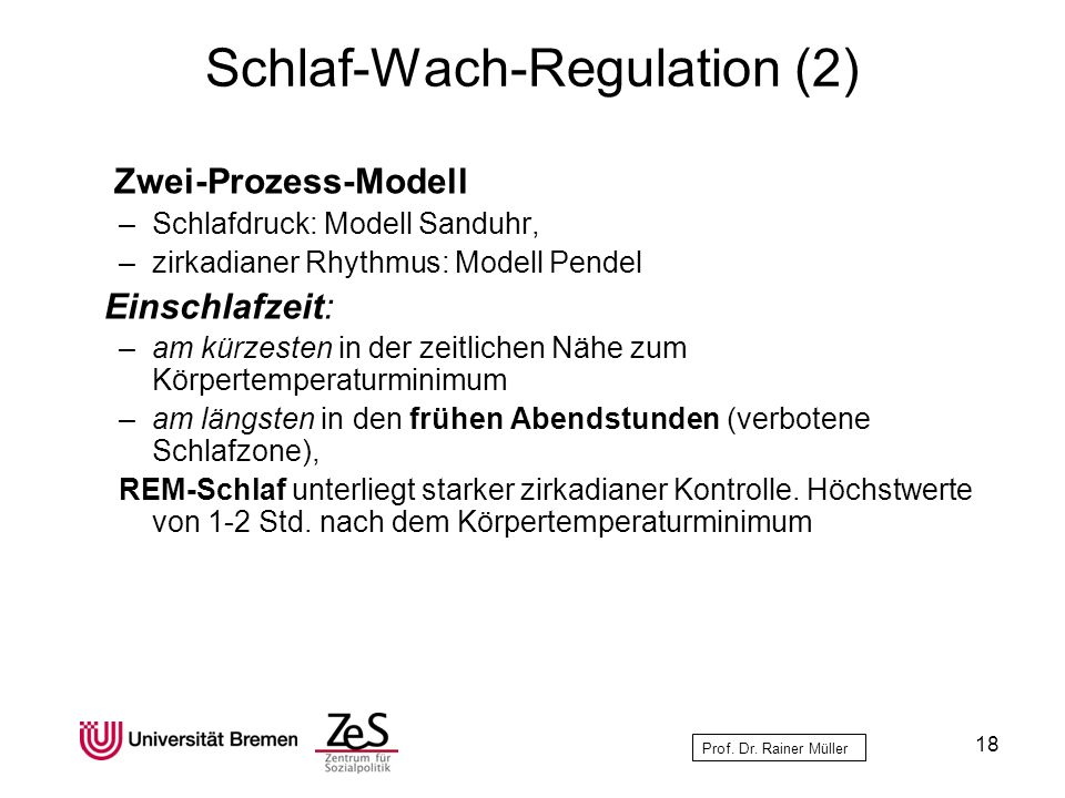 Schlaf-Wach-Regulation (2)