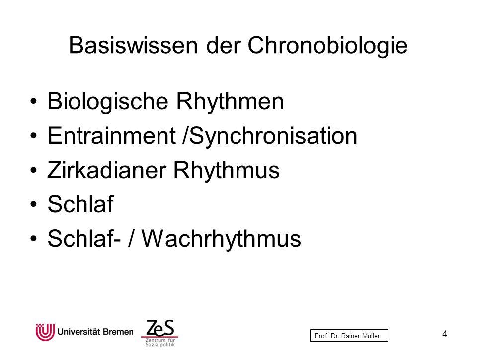 Basiswissen der Chronobiologie