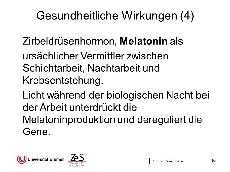 Gesundheitliche Wirkungen (4)