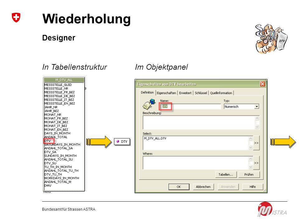 Wiederholung Designer In Tabellenstruktur Im Objektpanel
