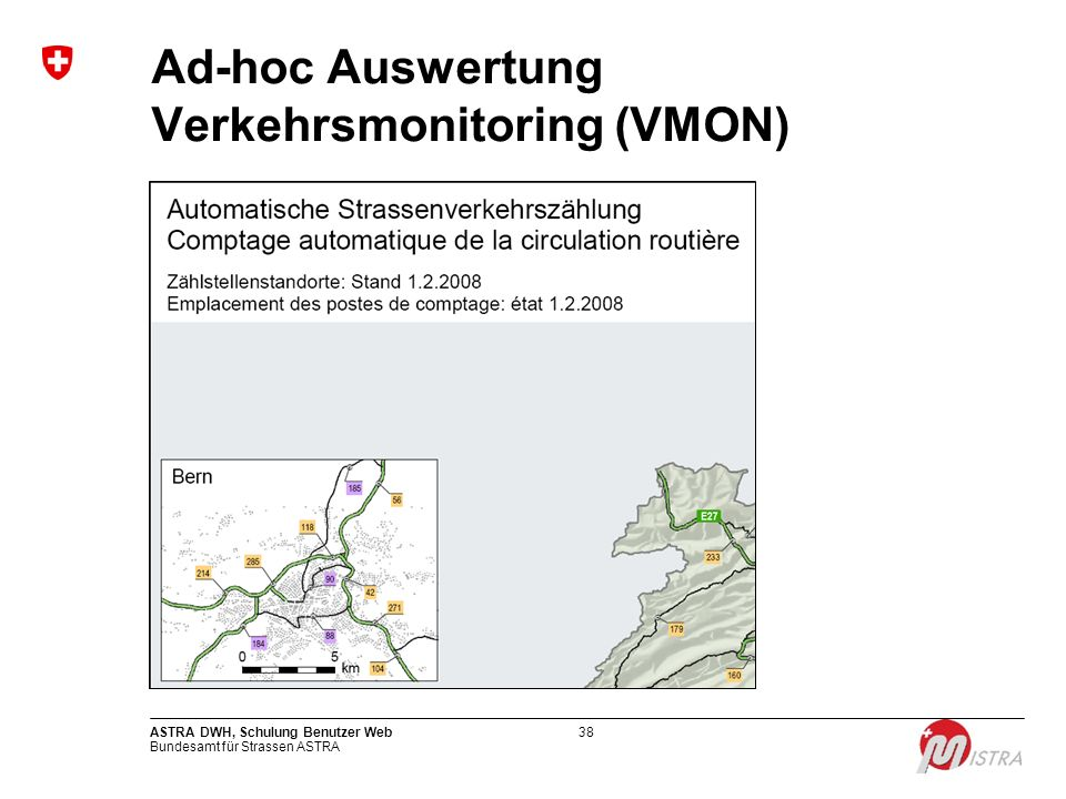 Ad-hoc Auswertung Verkehrsmonitoring (VMON)
