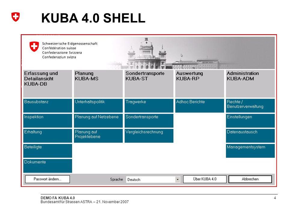 KUBA 4.0 SHELL DEMO FA KUBA 4.0