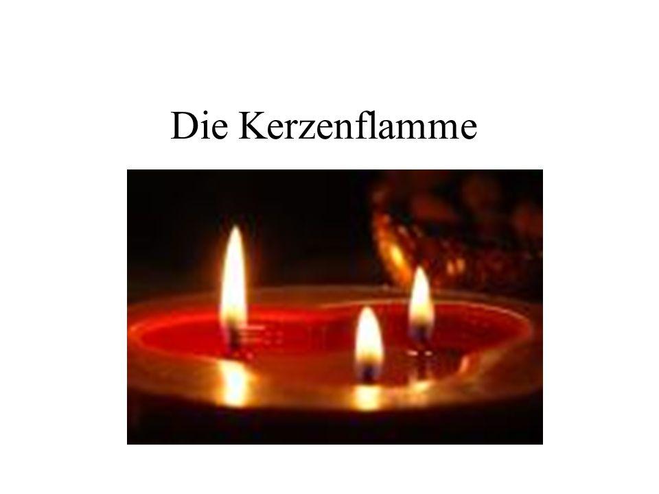 Die Kerzenflamme