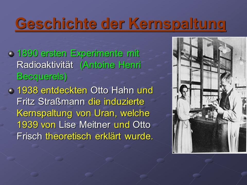 Geschichte der Kernspaltung