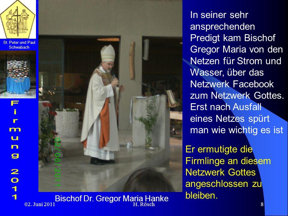 Bischof Dr. Gregor Maria Hanke