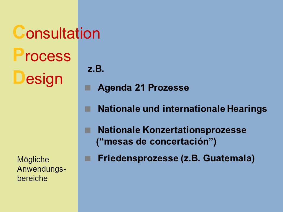 Consultation Process Design
