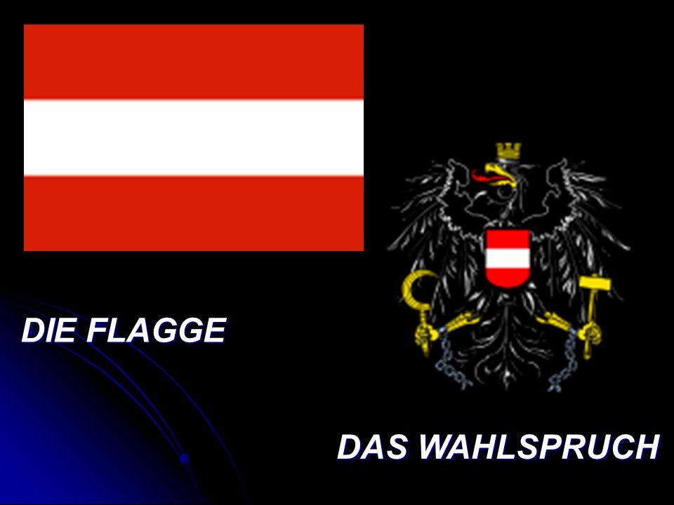 DIE FLAGGE DAS WAHLSPRUCH