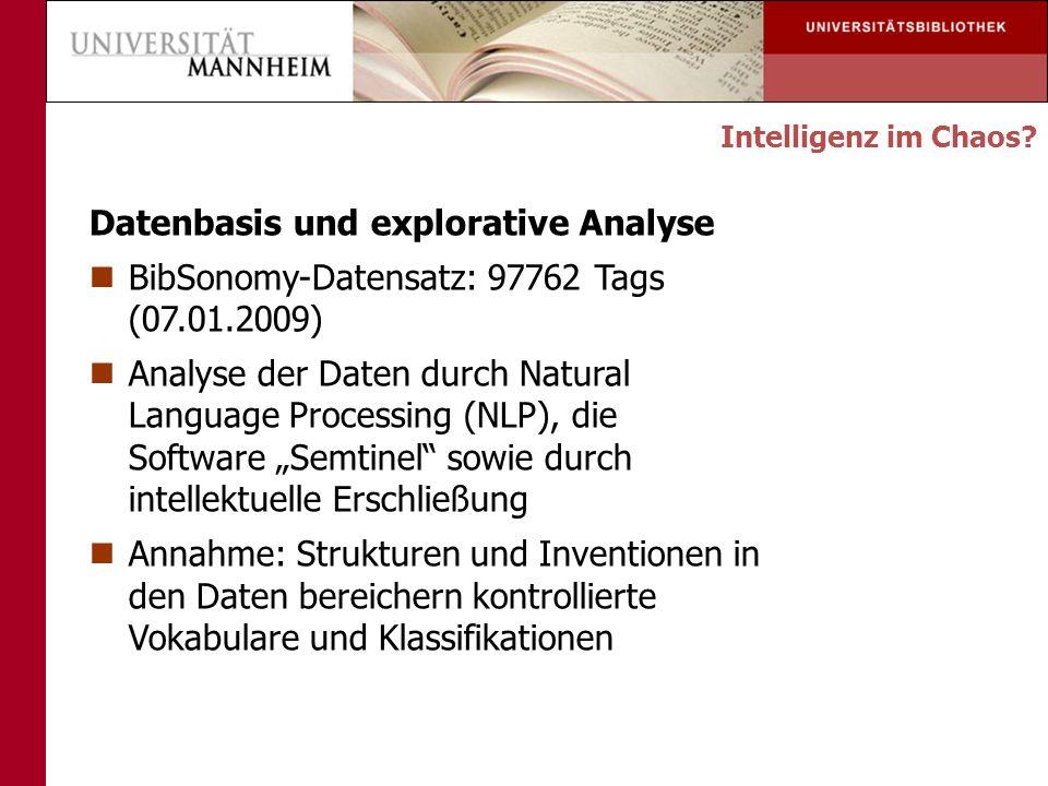 Datenbasis und explorative Analyse