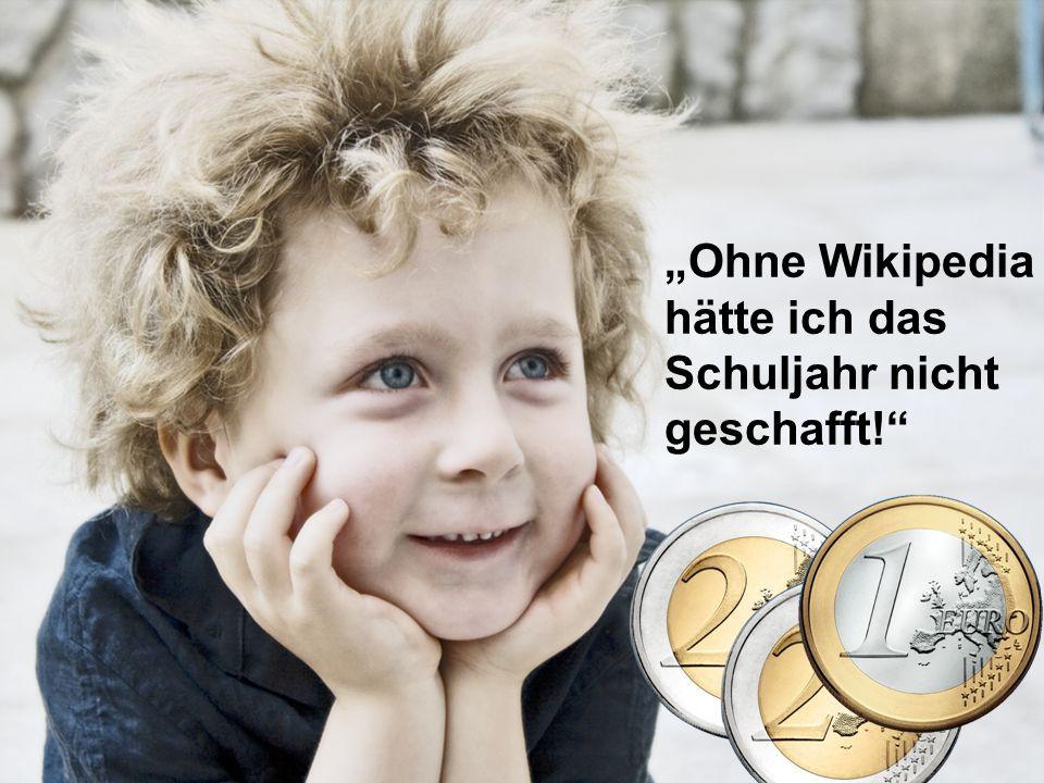 """""""Ohne Wikipedia hätte ich das Schuljahr nicht geschafft!"""