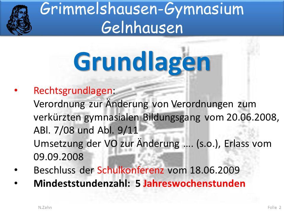 Grimmelshausen-Gymnasium Gelnhausen
