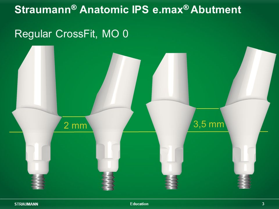 Straumann® Anatomic IPS e.max® Abutment