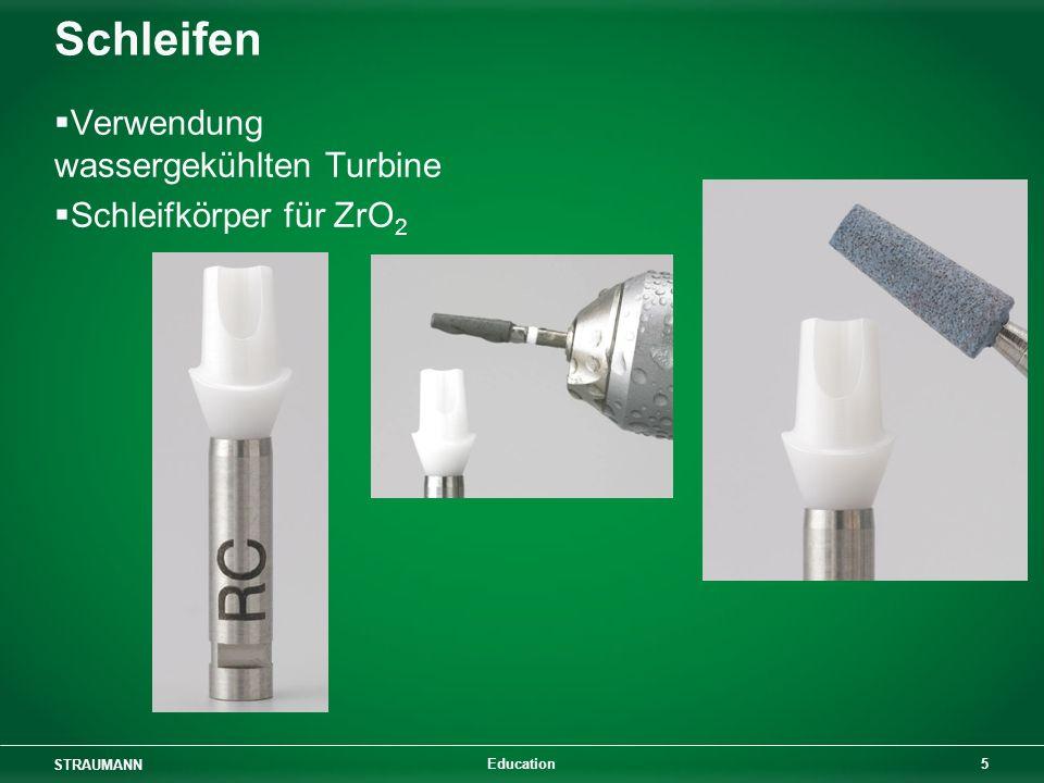 Schleifen Verwendung wassergekühlten Turbine Schleifkörper für ZrO2