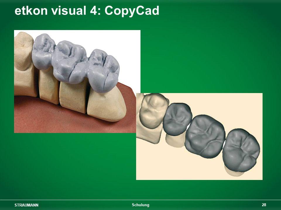 etkon visual 4: CopyCad Schulung