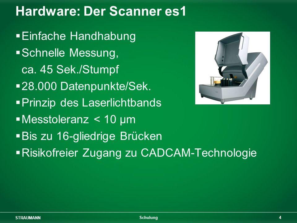 Hardware: Der Scanner es1