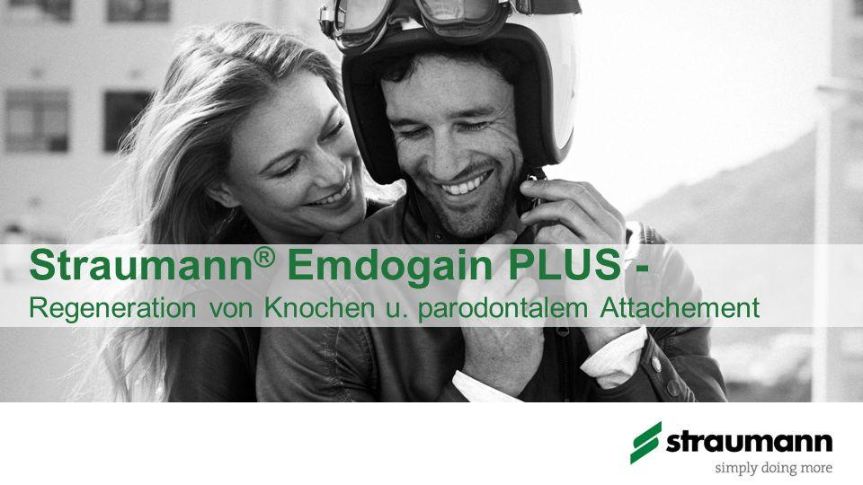 Straumann® Emdogain PLUS - Regeneration von Knochen u