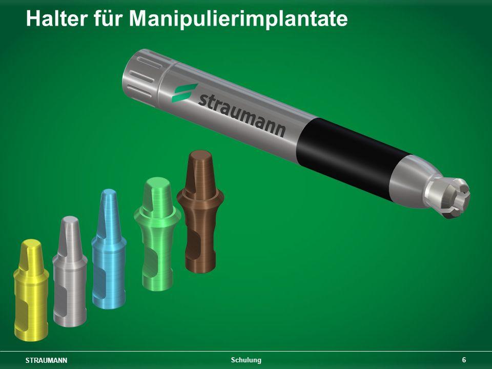 Halter für Manipulierimplantate