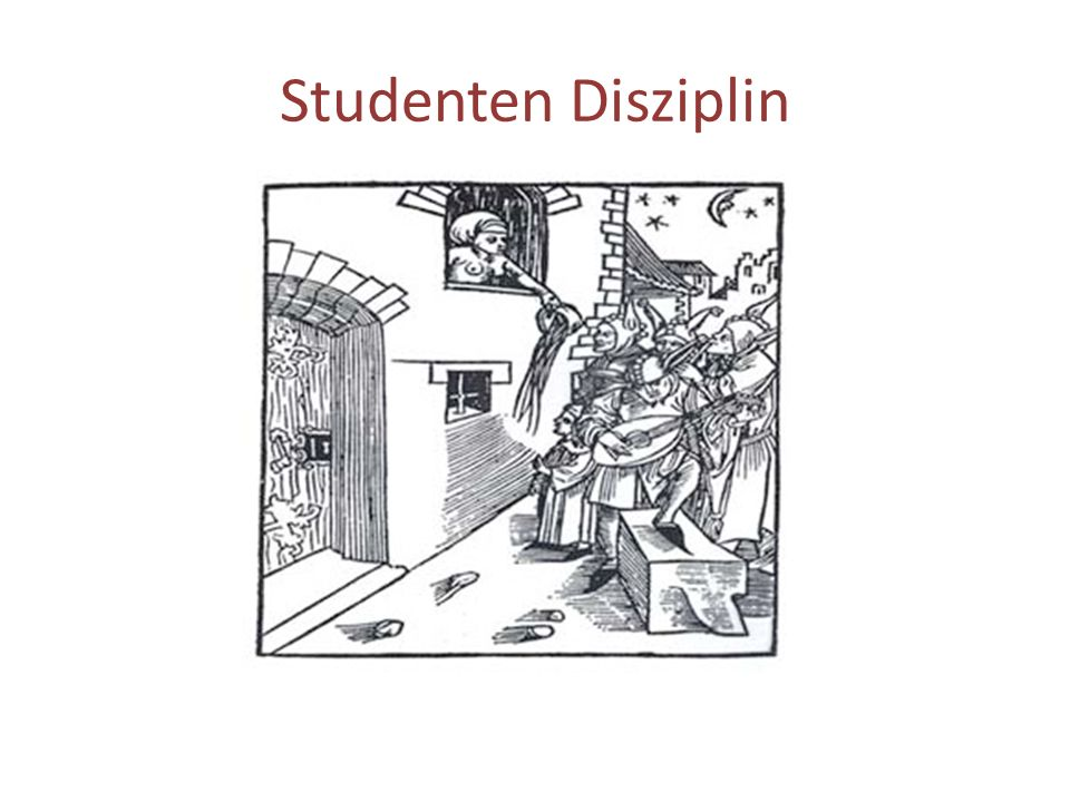 Studenten Disziplin
