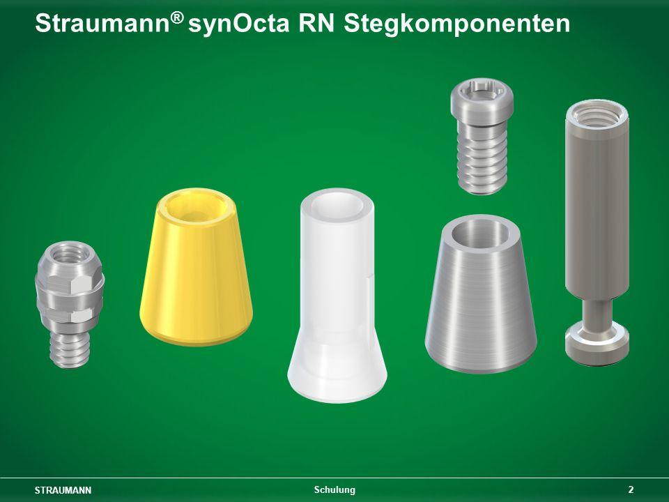 Straumann® synOcta RN Stegkomponenten
