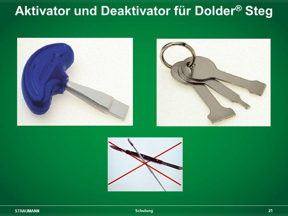 Aktivator und Deaktivator für Dolder® Steg