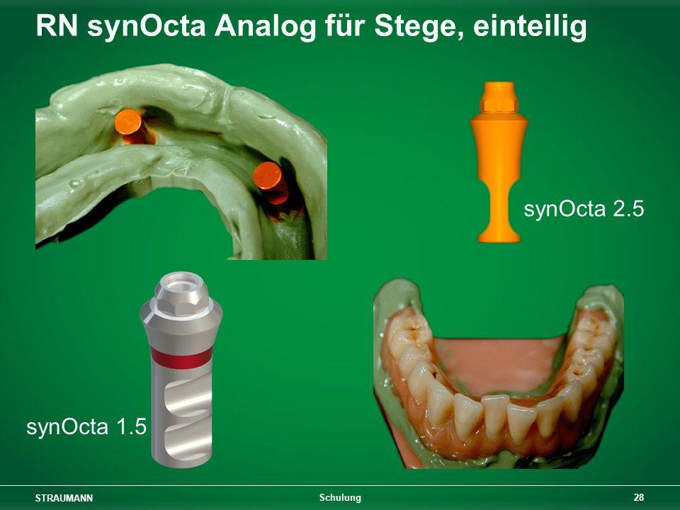 RN synOcta Analog für Stege, einteilig