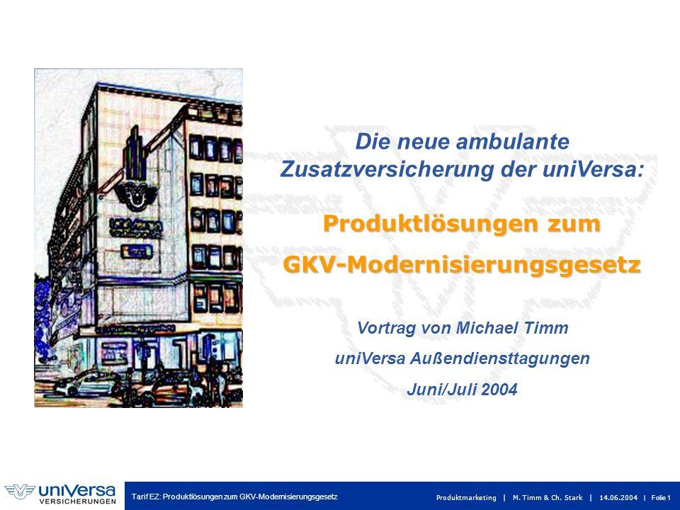 Die neue ambulante Zusatzversicherung der uniVersa: