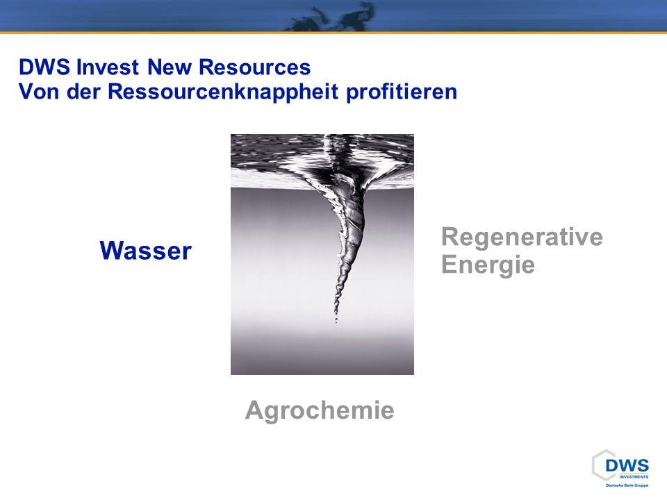"""DWS Invest New Resources Wasser – das """"blaue Gold"""