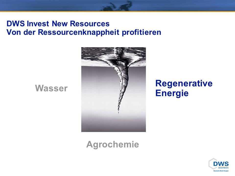 DWS Invest New Resources Wachsender Appetit auf knappes Öl!