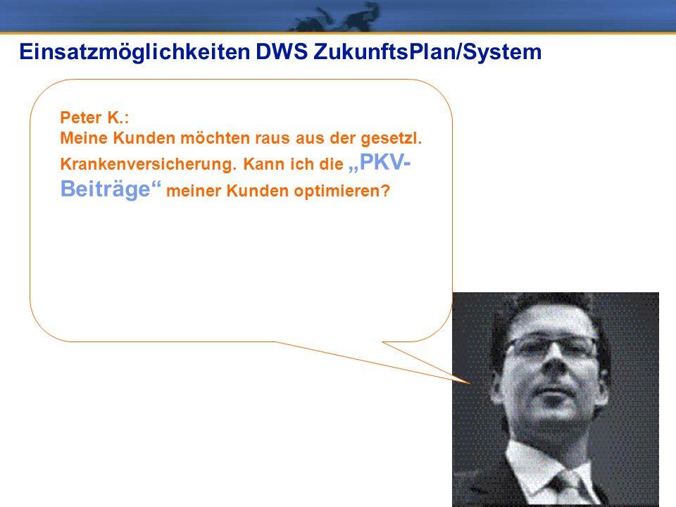 DWS ZukunftsPlan/System: langfristige Kundenbindung