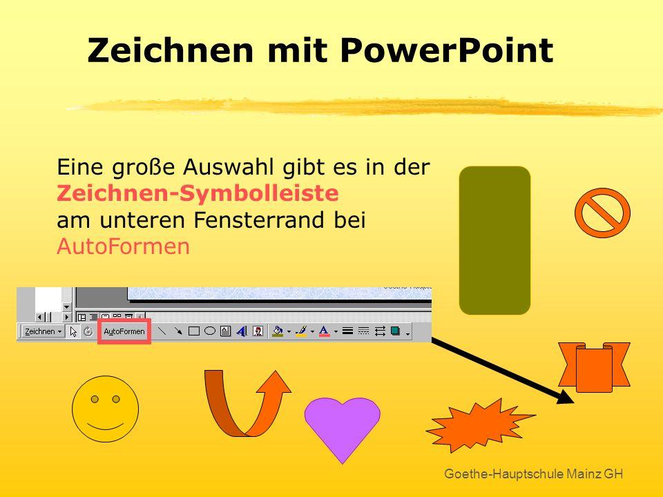 Zeichnen mit PowerPoint