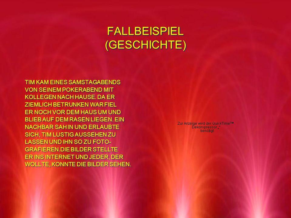 FALLBEISPIEL (GESCHICHTE)