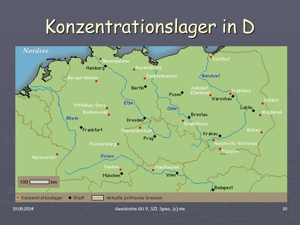 Konzentrationslager in D