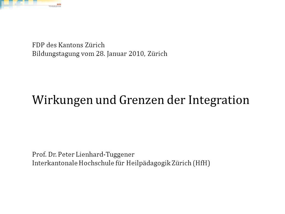 Wirkungen und Grenzen der Integration