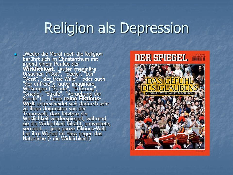 Religion als Depression