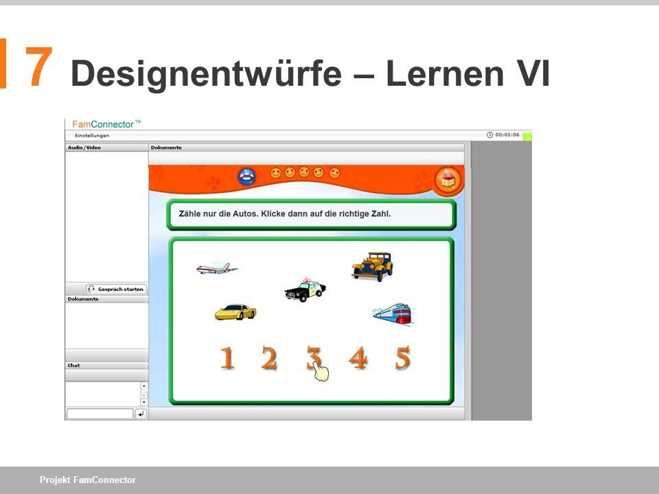 7 Designentwürfe – Lernen VI