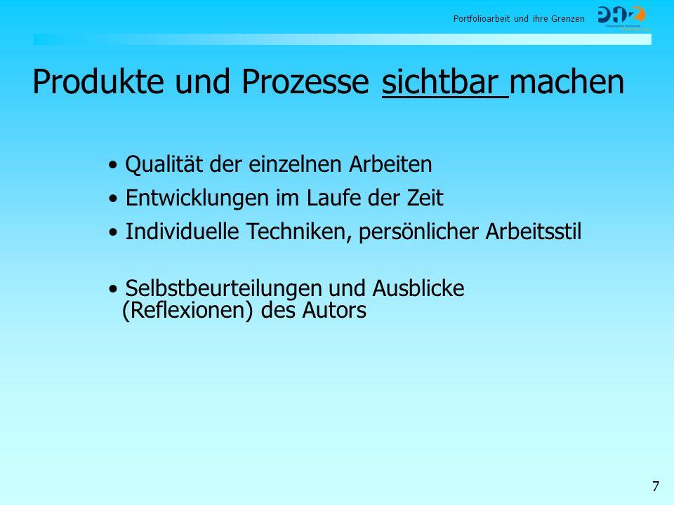 Produkte und Prozesse sichtbar machen