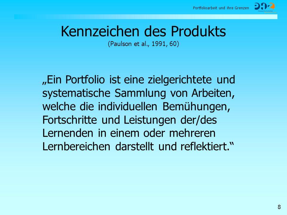 Kennzeichen des Produkts