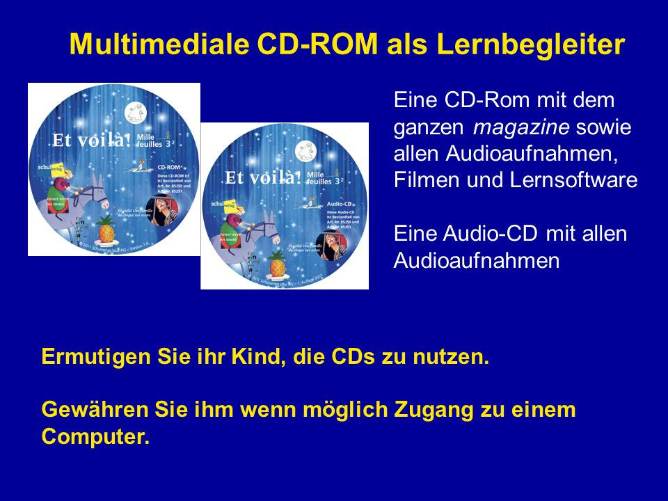 Multimediale CD-ROM als Lernbegleiter