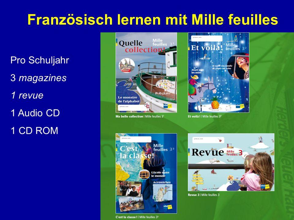 Französisch lernen mit Mille feuilles