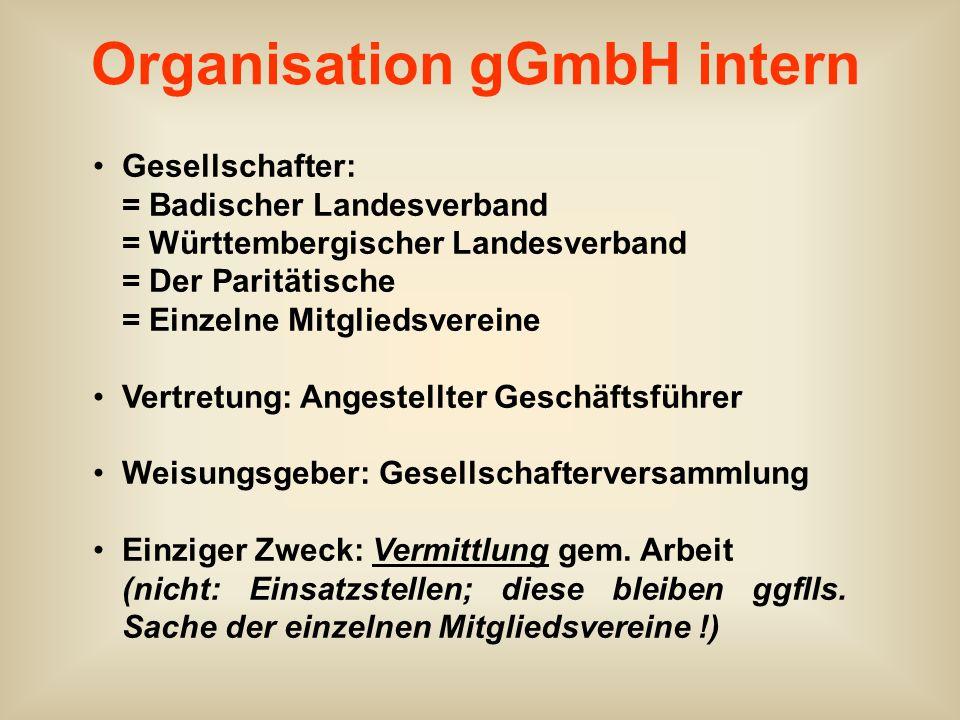 Organisation gGmbH intern
