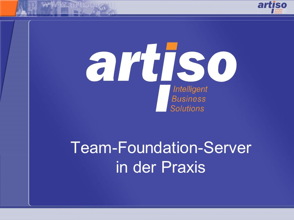 Team-Foundation-Server in der Praxis