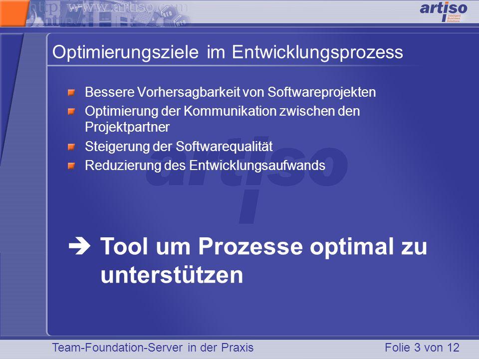 Optimierungsziele im Entwicklungsprozess