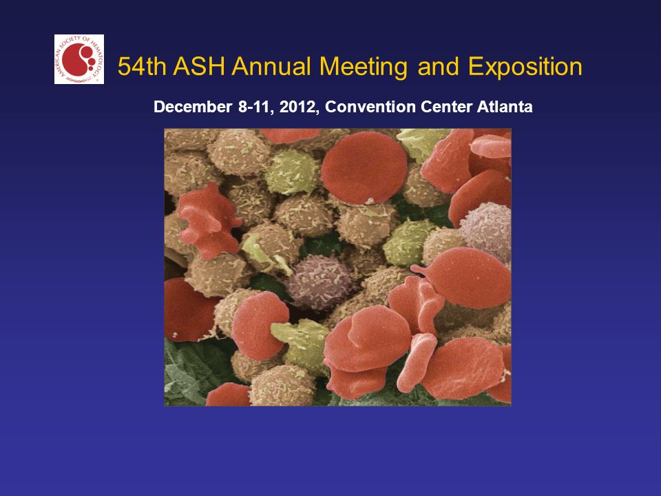 December 8-11, 2012, Convention Center Atlanta