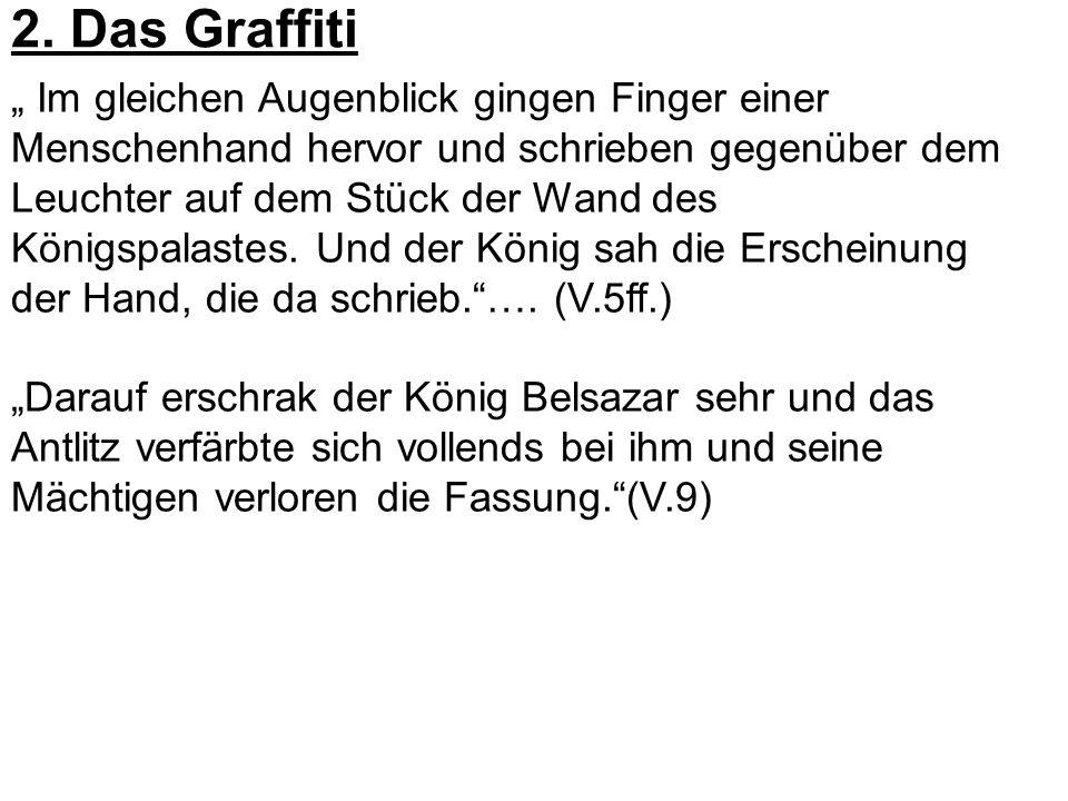 2. Das Graffiti