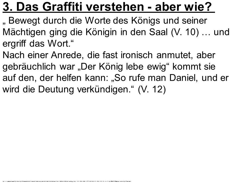 3. Das Graffiti verstehen - aber wie