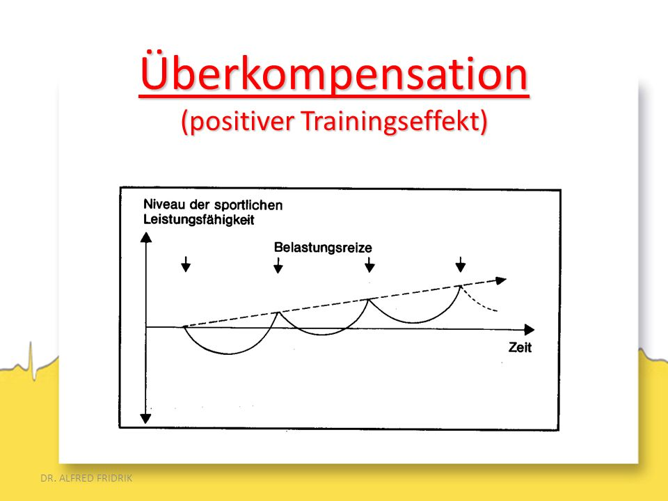 Überkompensation (positiver Trainingseffekt)